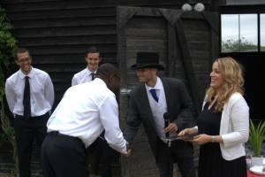 Sara Vestin Rahmani and Butler graduates