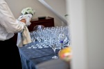 Glass polishing-British Butler Academy in training-