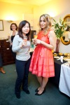 Sara Vestin Rahmani and her Chinese Commercial Manager Dan, celebrating new business